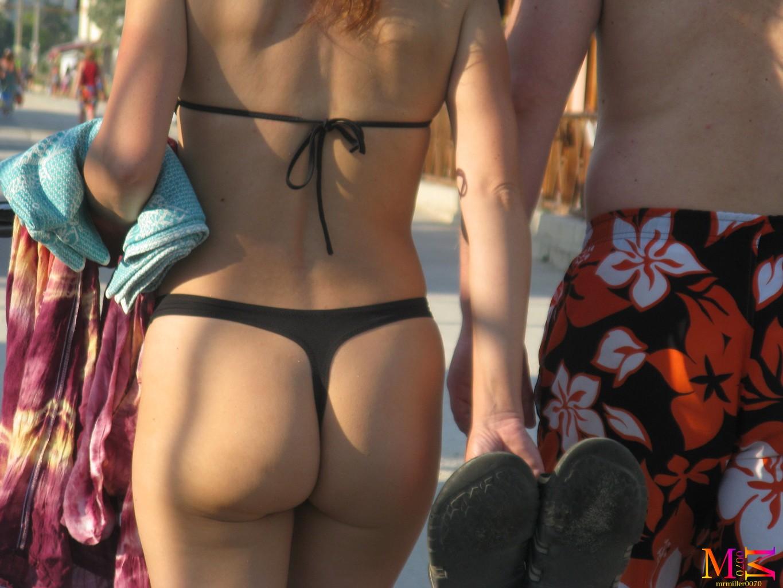 hot ass thong